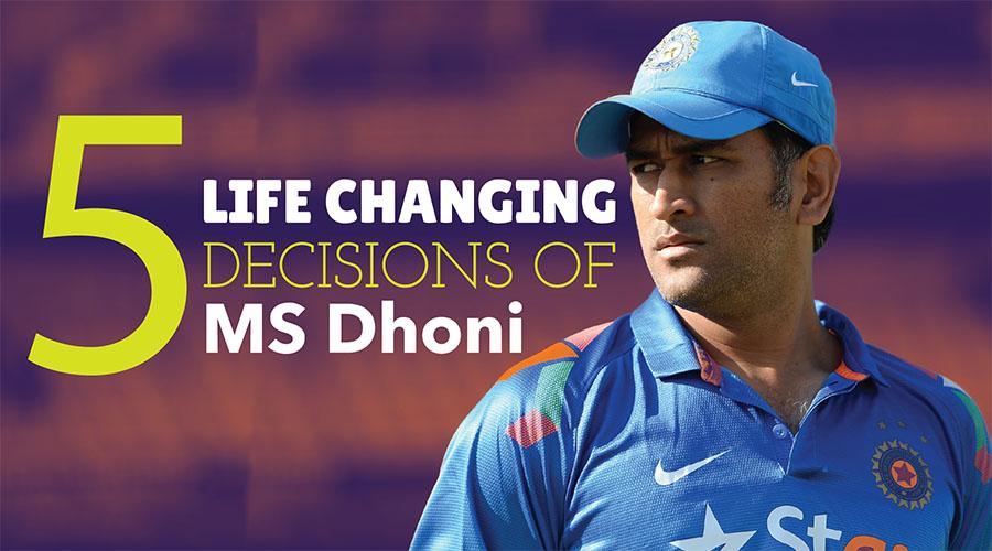 Dhoni Decision