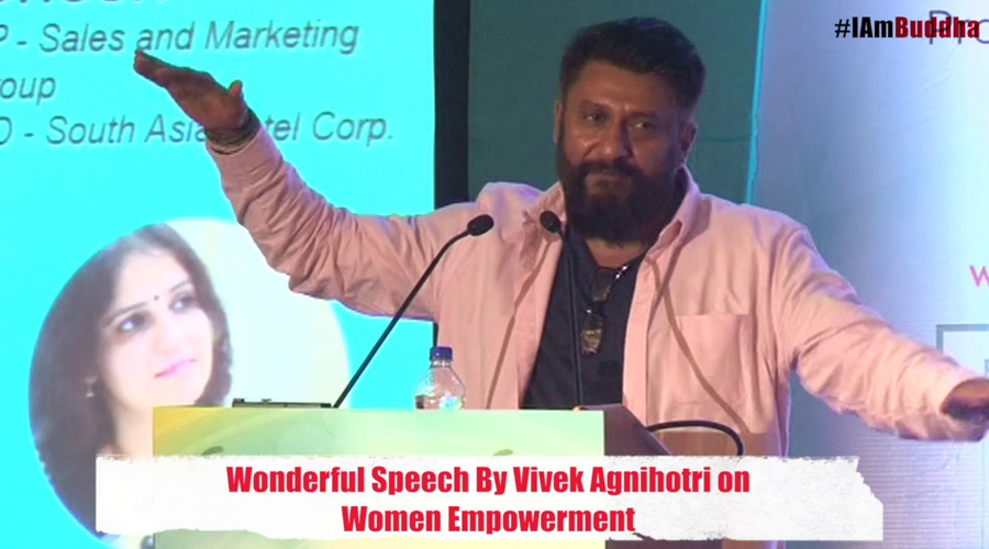 Speech by Vivek Agnihotri International Women's Day