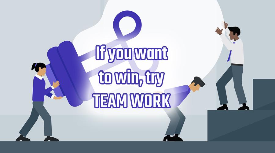 team work always wins