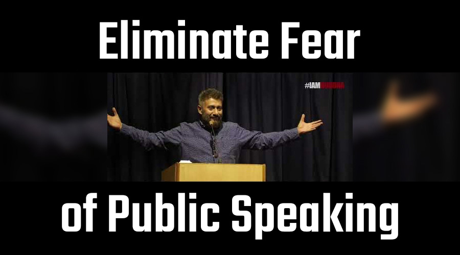 public speaking - how to eliminate