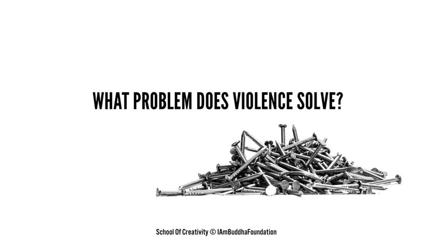 What's the root cause of violence in today's India?