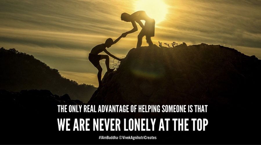 Why do we need to help someone?