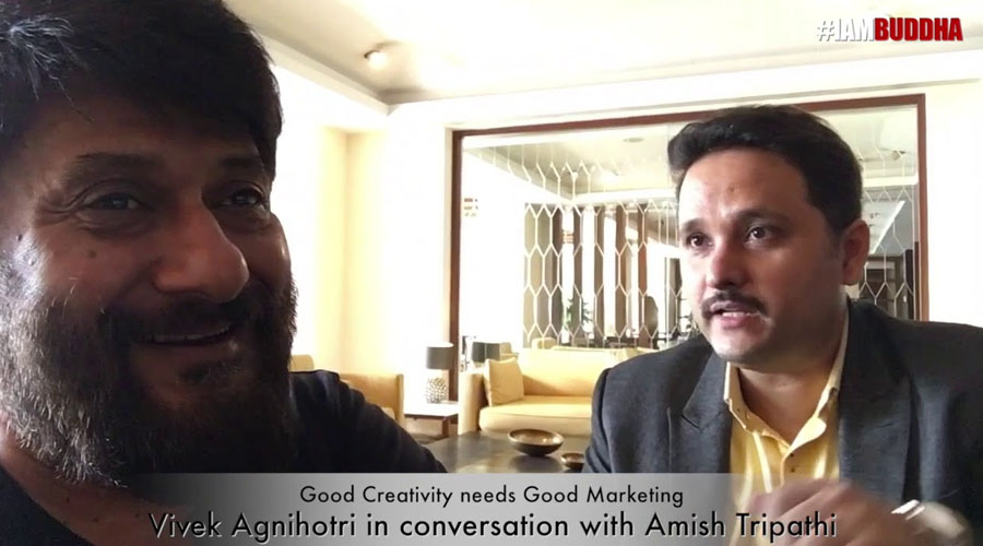 Good Creativity Needs Good Marketing: Vivek Agnihotri in conversation with Amish Tripathi