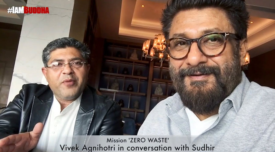 Mission Zero Waste By Sudhir with Vivek Agnihotri #AbBas! #BuddhaCares