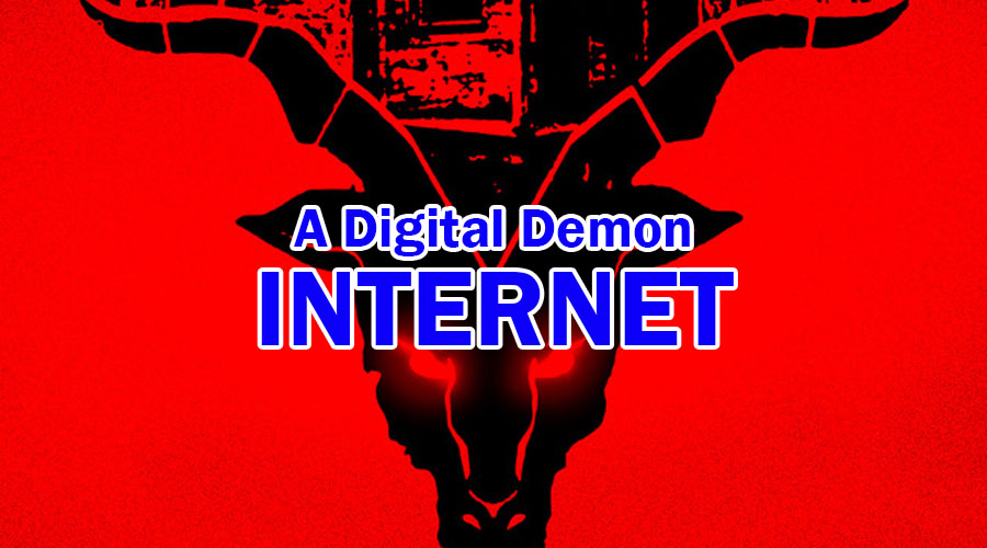 A Digital Demon - Internet: Your online identity & personal data is on stake
