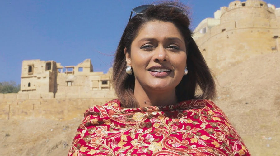 'Indian Infrastructure Development and Progress', with Pallavi Joshi in 'Bharat Ki Baat'