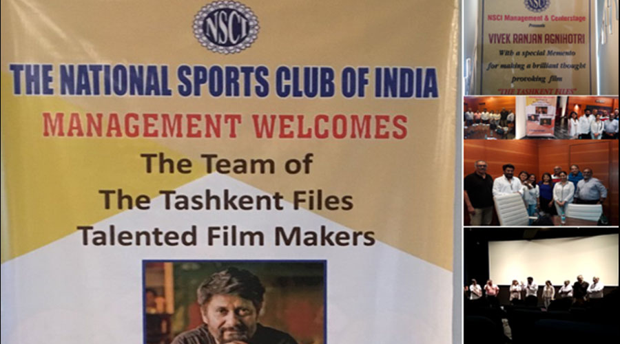 "4 shows, and more on a roll; NSCI lauds Vivek Agnihotri's ""The Tashkent Files""!"