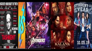 "Vivek Agnihotri's ""The Tashkent Files"" v/s Juggernauts: ""Avengers: Endgame""; ""Kalank"" and ""SOTY2"""