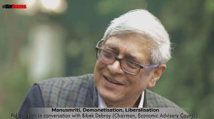 'The Aspects of Indian Economy '- Pallavi Joshi in a conversation with Bibek Debroy