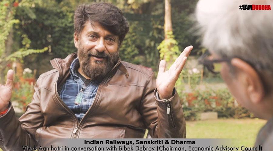 'Indian Railways, Sanskriti and Dharma'- Vivek Agnihotri in a conversation with Bibek Debroy