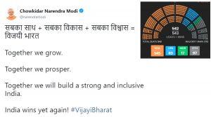 BJP's Saffron Wash in India! India wins yet Again! Its NaMo Again!