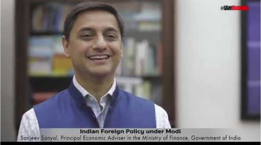 """The Indian Renaissance-Economic Growth and Indian Foreign Relations""; with Sanjeev Sanyal"