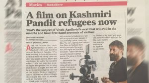"Its OFFICIAL! Vivek Agnihotri's upcoming ""The Kashmir Files"" an HONEST investigation on 'Kashmiri Pundit issue'!"