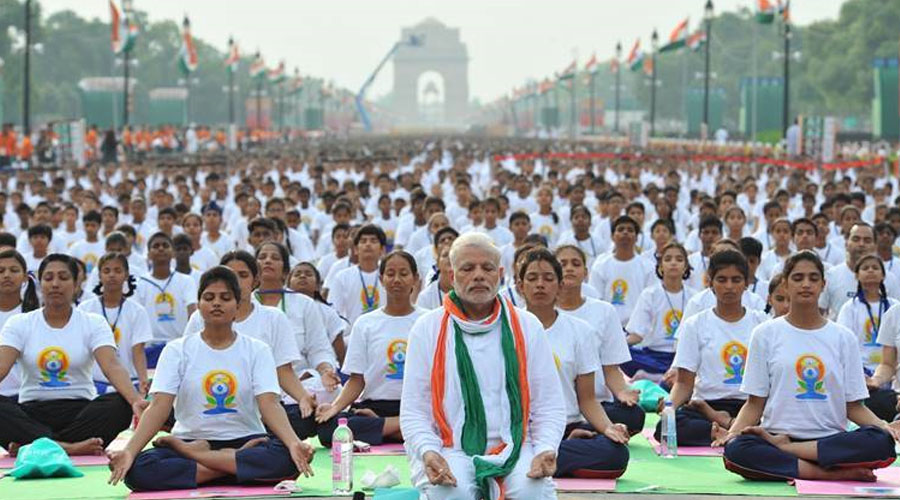 Yoga for All; All for Yoga!-PM Modi on the 'International Yoga Day' celebrating 'Yoga for Climate Action'
