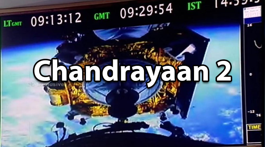 """""""A billion dreams launched to the MOON"""" by ISRO's MISSION CHANDRAYAAN-2"""