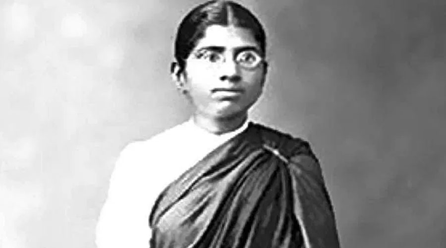 Padma Bhushan Muthulakshmi Reddi, India's first female legislator and Surgeon.