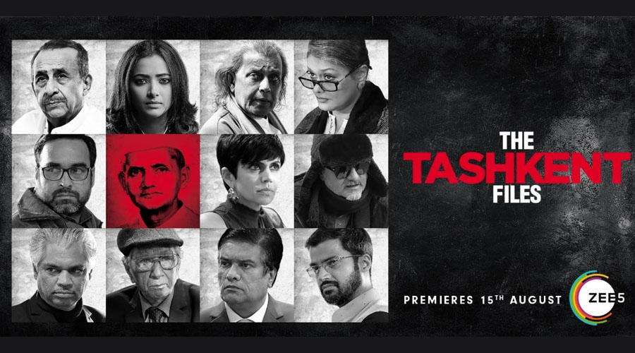 "Vivek Agnihotri's ""The Tashkent Files"" to be premiered on ZEE5. This Independence Day discover your #RightToTruth"