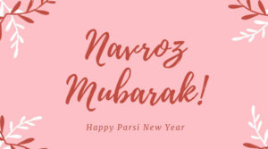 "Parsis gear up for Pateti celebrations. Wishing them a Happy and Prosperous New Year. ""Nowruz Mubarak!"""