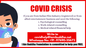Covid Crisis - I Am Buddha Foundation is committed to help you FREE
